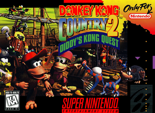 Donkey Kong Country 2: Diddy's Kong Quest (Game Only) (Super Nintendo)