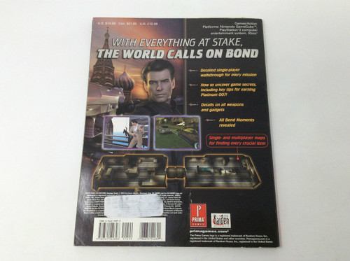 007: Everything Or Nothing (Strategy Guide)