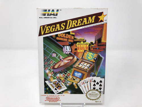 Vegas Dream -COMPLETE IN BOX- (NES)