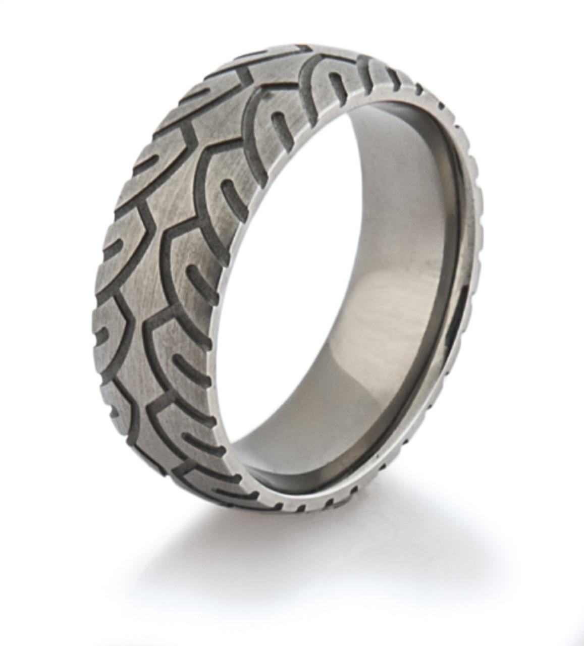 s titanium motorcycle ring titanium buzz
