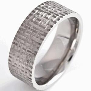 Basket Weave Pattern Ring