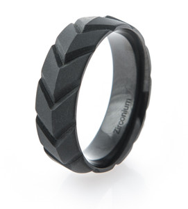 V-Force Matte Black Ring
