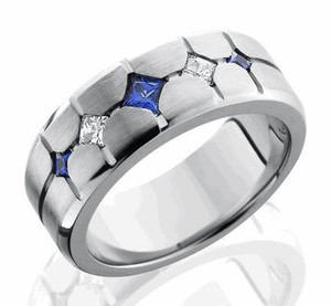 The Prime Time Cobalt Men's Ring