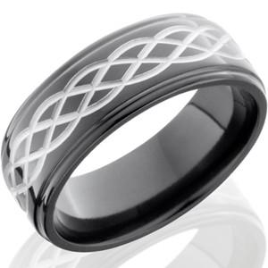 Black Celtic Weave Ring