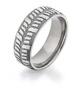Men's Titanium Mud Bogger Ring