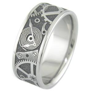 Chronos Titanium Ring