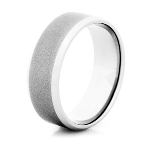 Men's Gunmetal Titanium Wedding Ring