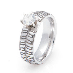 Women's Mud Bogger Engagement Ring