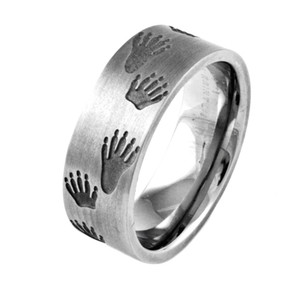 Coon Tracks Ring