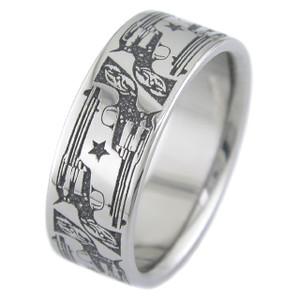 Cowboy Pistol Ring