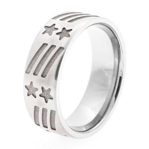 Men's Titanium All-American Ring