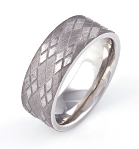 Argyle Pattern Ring
