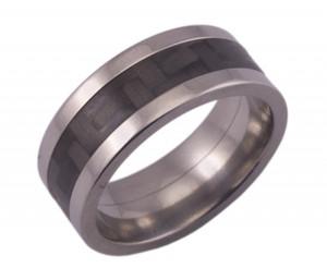 Flat Profile Titanium with Carbon Fiber