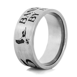 Flying Duck Band Ring