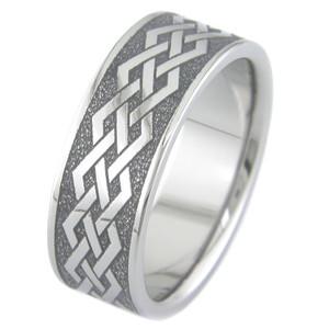 Straight Knots Celtic Ring