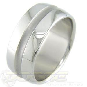 Midchannel Titanium Ring