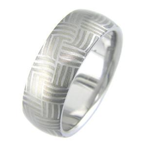 Mokumanium Basket Ring