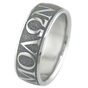 Molon Labe Wedding Ring