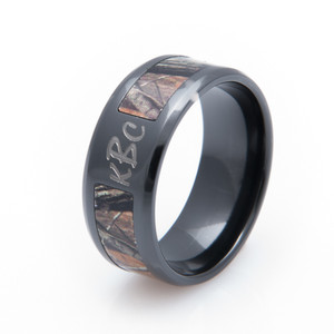 Personalized Camo Ring