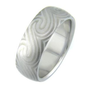 Mokumanium Ocean Ring