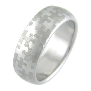 Mokumanium Puzzle Ring