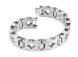 The Maderna Men's Titanium Bracelet