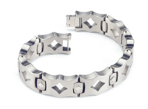 The Maderna Men's Titanium Bracelet