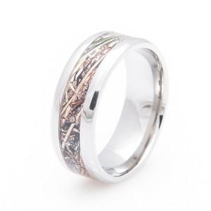 Mossy Oak Duck Blind Camo Wedding Ring