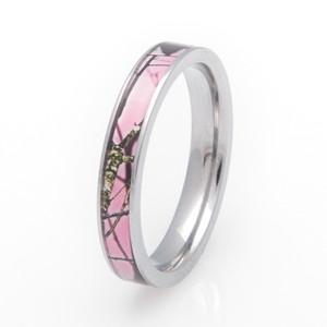 Pink Mossy Oak Breakup Camo Ring