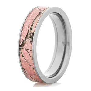 Women's Titanium Pink Realtree AP Camo Ring