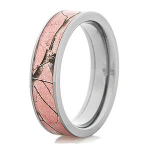 Women's Titanium Pink Realtree AP Camo Ring