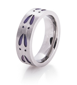 Purple Deer Track Ring