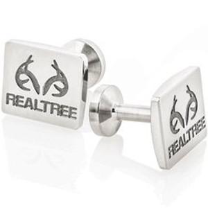 Titanium Realtree Cufflinks