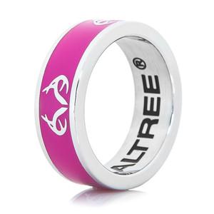 Realtree Logo Ring-Pink