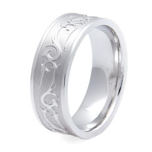 Men's Titanium Rebel Western Wedding Ring