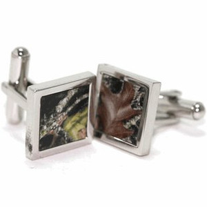 Mossy Oak Breakup Pattern Cufflinks