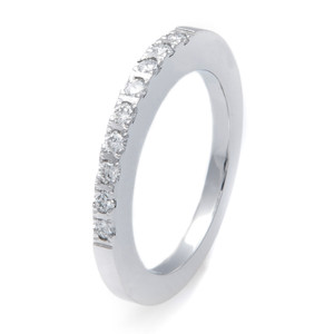 Women's Cobalt Nine .03Ct Diamond Ring