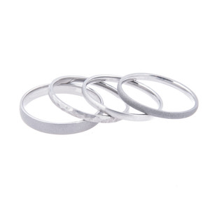 Stackable Rings, Set of Three