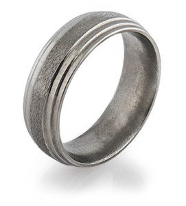 Step Down Titanium Ring