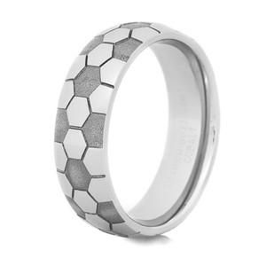 Men's Cobalt Soccer Ring
