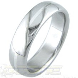 Titanium White Gold Ring