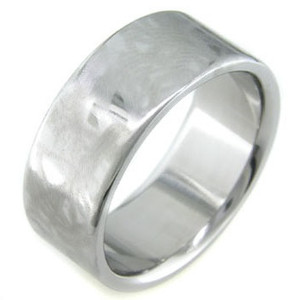 Titanium Ring with Alien Skin Finish