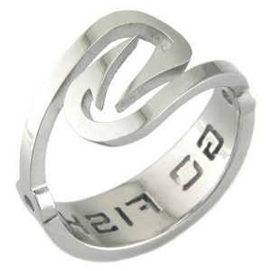 Go Fish Titanium Hook Ring