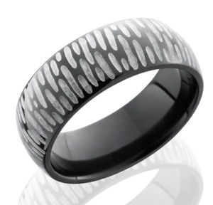 Two Tone Rustic Ring