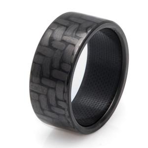 Classic Carbon Fiber Ring