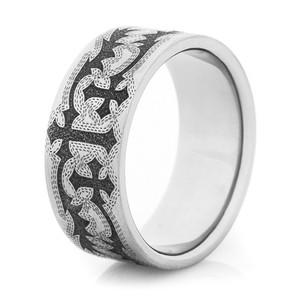 Vintage Tribal Cross Ring