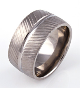 Wide Textured Band