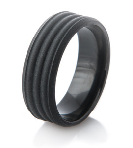 Triple D Black Matte Ring