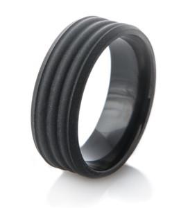 Triple D Black Matte Ring