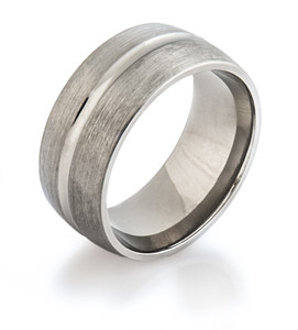 Wide Titanium Band
